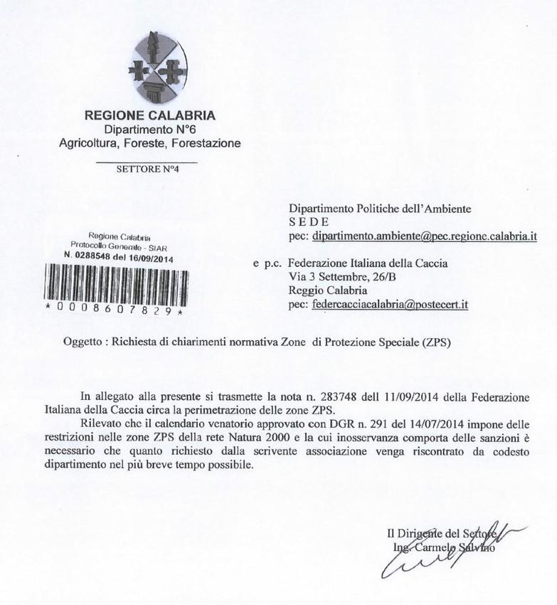 Regione Calabria Caccia E Pesca Calendario Venatorio.News Fidc 2014 Tuttociccio