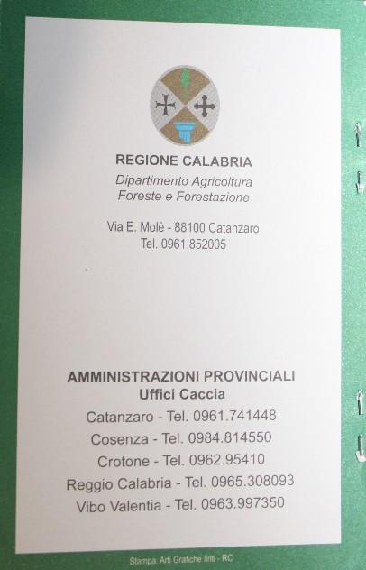 Regione Calabria Caccia E Pesca Calendario Venatorio.Home Page Tuttociccio